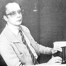 Piet Beertema in 1984