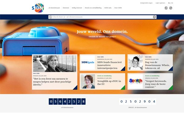 Website SIDN