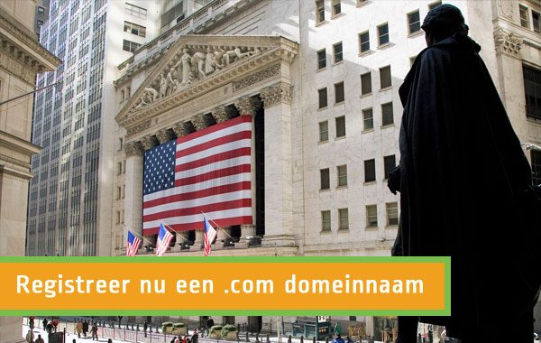 .com domeinnaam registreren