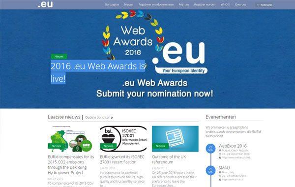 Website EURID